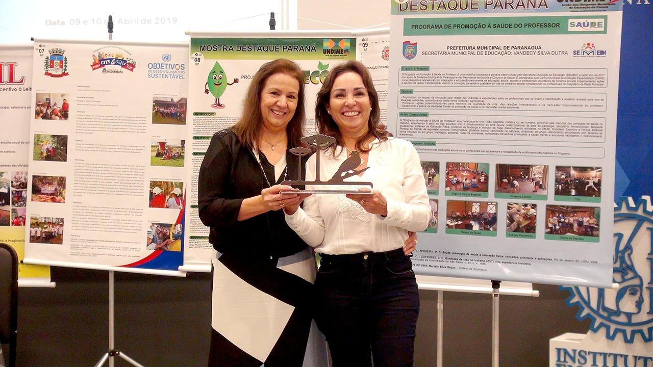 I Mostra Destaque Paraná premia iniciativa da Secretaria Municipal de Educação de Paranaguá