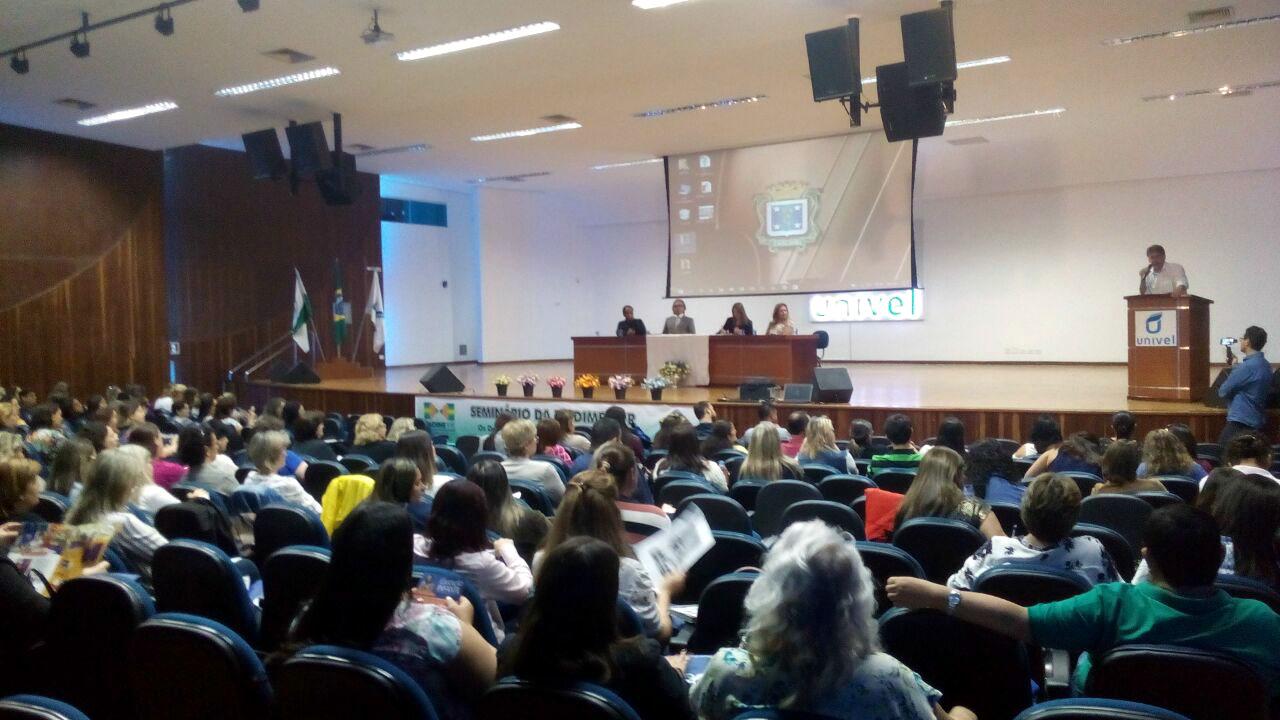 Seminário da Undime-PR discute os desafios da Educação Pública