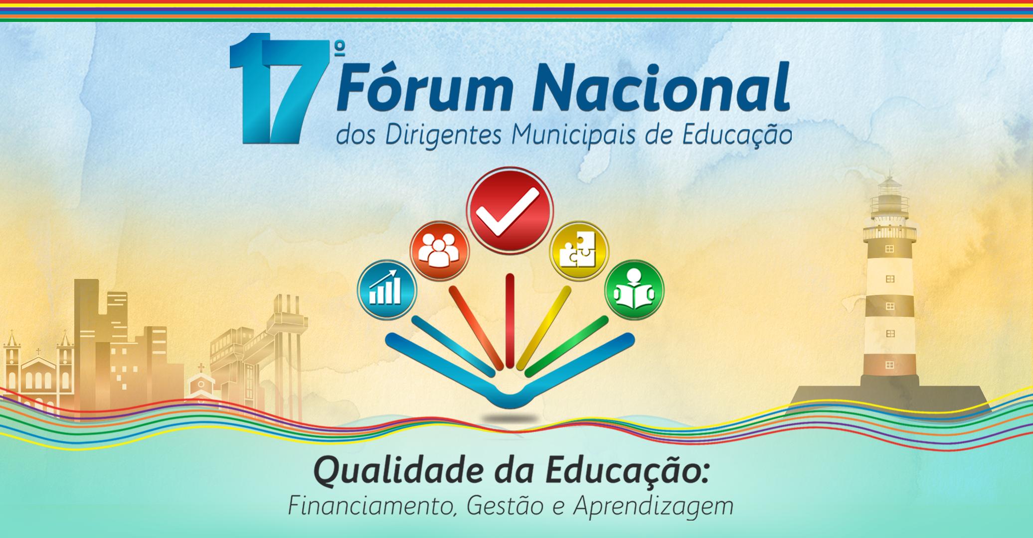 Inscrições abertas para o 17º Fórum Nacional da Undime