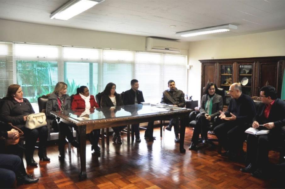 SecretÁria De Estado Da EducaÇÃo Do ParanÁ Recebe Diretoria Da Undime
