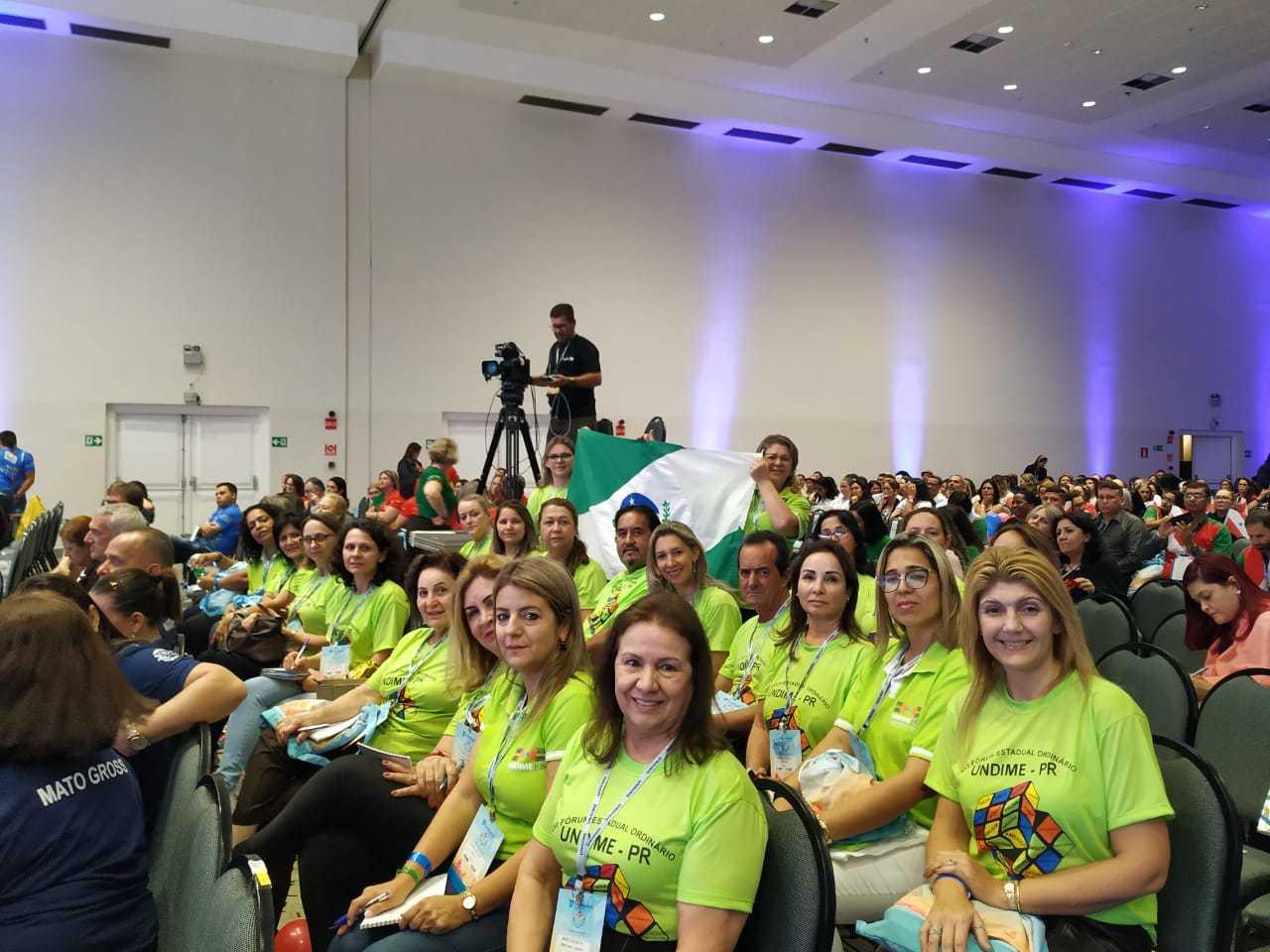Delegação paranaense participa do 17º Fórum Nacional dos Dirigentes Municipais de Educação