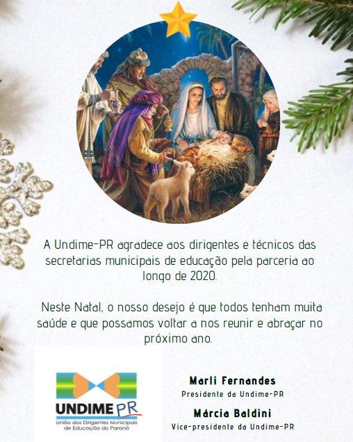 Feliz Natal e Próspero 2021