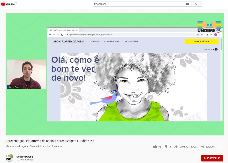 Plataforma de Apoio à Aprendizagem é apresentada aos dirigentes municipais de educação do Paraná
