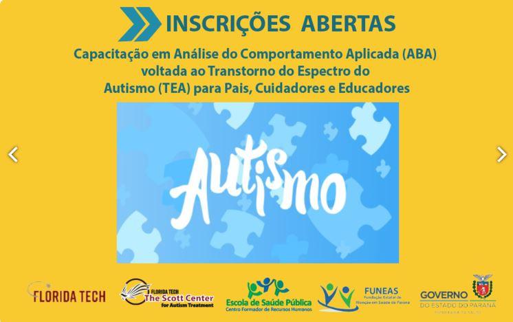 Capacitação em Análise do Comportamento Aplicada (ABA) voltada ao Transtorno do Espectro do Autismo (TEA) para Pais, Cuidadores e Educadore