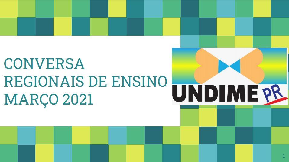 Presidente Marli Fernandes realiza encontros virtuais com os dirigentes municipais de educação do Paraná