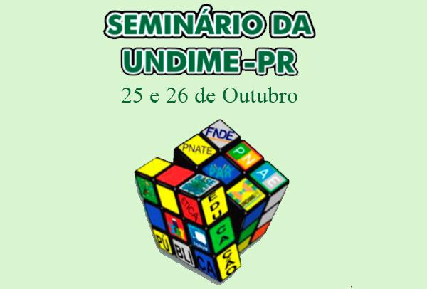 Seminário: Os Desafios da Gestão Pública Municipal na Garantia do Direito a Educação de Qualidade.
