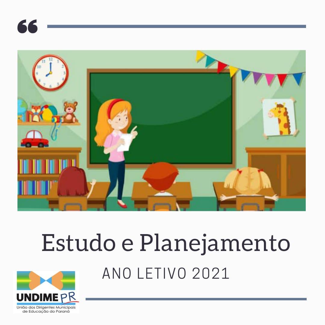 Undime-PR disponibiliza material para auxiliar as secretarias municipais de educação na organização do ano letivo de 2021